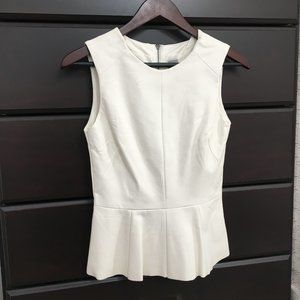 Urban Outfitters CO Vegan Leather Peplum Top